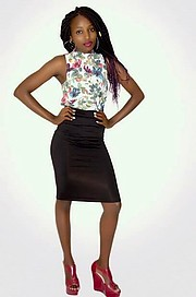 Wangui Mwaniki model. Photoshoot of model Wangui Mwaniki demonstrating Fashion Modeling.Fashion Modeling Photo #195799