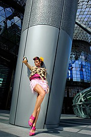 Winnie Loo fashion stylist. styling by fashion stylist Winnie Loo.Editorial Styling Photo #70756
