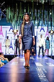 Winnie Phoebe model. Photoshoot of model Winnie Phoebe demonstrating Runway Modeling.Fashion High Tea 2019Runway Modeling Photo #207471