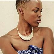 Winnie Wanja model. Photoshoot of model Winnie Wanja demonstrating Face Modeling.Face Modeling Photo #174749
