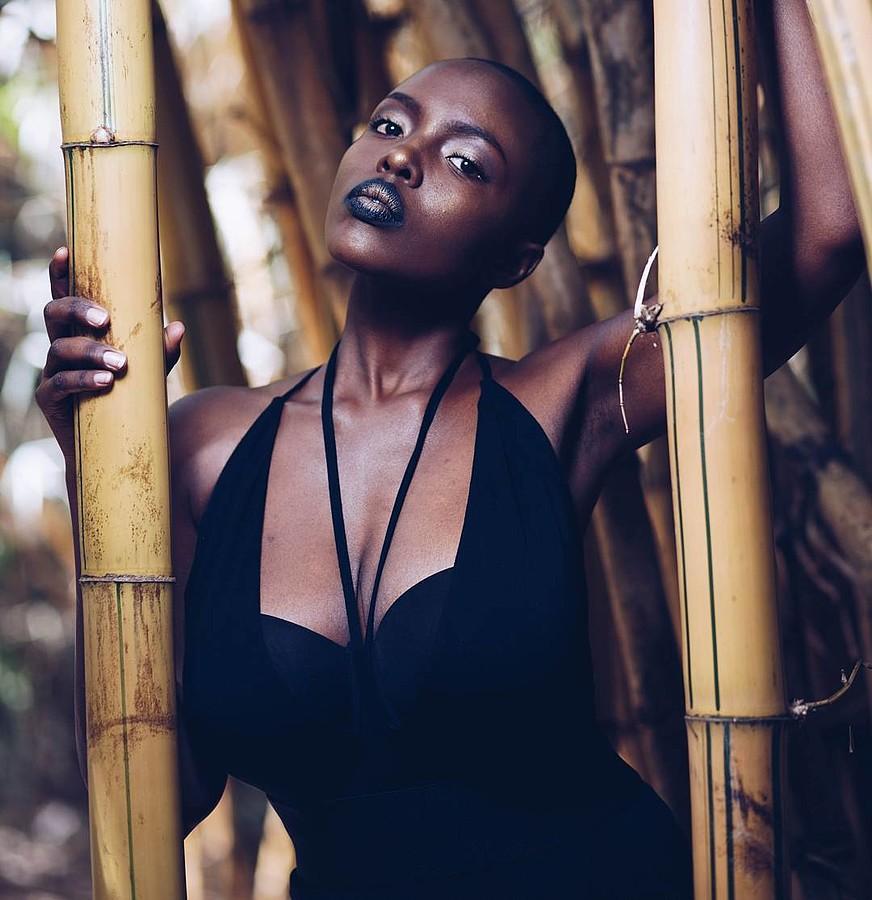 Winnie Wanja model. Winnie Wanja demonstrating Fashion Modeling, in a photoshoot by Steven Kitoto.photographer: Steven KitotoFashion Modeling Photo #176892