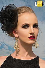Xenia Duyun model (μοντέλο). Photoshoot of model Xenia Duyun demonstrating Face Modeling.Face Modeling Photo #165989