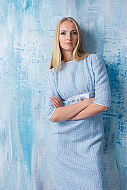 Xenia Duyun model (μοντέλο). Photoshoot of model Xenia Duyun demonstrating Fashion Modeling.Fashion Modeling Photo #165995