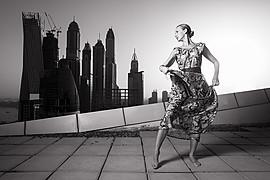 Xenia Duyun model (μοντέλο). Photoshoot of model Xenia Duyun demonstrating Body Modeling.Body Modeling Photo #165994