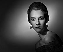 Yana Ultra model (Яна Ультра модель). Photoshoot of model Yana Ultra demonstrating Face Modeling.Face Modeling Photo #78109