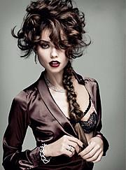 Yeva Don model & dj. Photoshoot of model Yeva Don demonstrating Face Modeling.Face Modeling Photo #111282