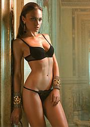 Yeva Don model & dj. Photoshoot of model Yeva Don demonstrating Body Modeling.Bracelet,LingerieBody Modeling Photo #79106