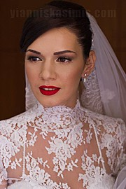 Yiannis Kasimis makeup artist (μακιγιέρ). Work by makeup artist Yiannis Kasimis demonstrating Bridal Makeup.Bridal Makeup Photo #113323