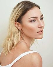 Yulia Agafonova model (μοντέλο). Photoshoot of model Yulia Agafonova demonstrating Face Modeling.Face Modeling Photo #186796