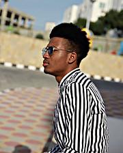 Yusuf Bello Mahmud model. Photoshoot of model Yusuf Bello Mahmud demonstrating Fashion Modeling.Fashion Modeling Photo #209503