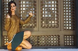 Zayneb Azzam model. Photoshoot of model Zayneb Azzam demonstrating Fashion Modeling.Fashion Modeling Photo #112644