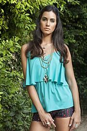 Zayneb Azzam model. Photoshoot of model Zayneb Azzam demonstrating Fashion Modeling.Fashion Modeling Photo #157433