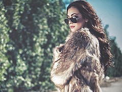 Zayneb Azzam model. Photoshoot of model Zayneb Azzam demonstrating Fashion Modeling.Fashion Modeling Photo #174424
