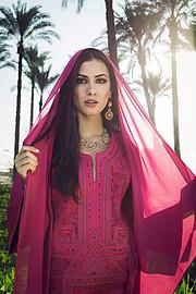Zayneb Azzam model. Photoshoot of model Zayneb Azzam demonstrating Fashion Modeling.Fashion Modeling Photo #174463