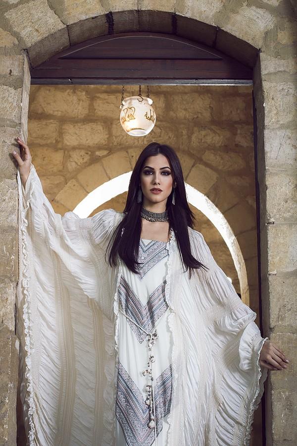 Zayneb Azzam model. Photoshoot of model Zayneb Azzam demonstrating Fashion Modeling.Fashion Modeling Photo #174464