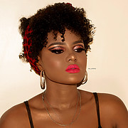 Zeynab Shariff makeup artist. Work by makeup artist Zeynab Shariff demonstrating Beauty Makeup in a photoshoot of Charity Paul.model: Charity PaulBeauty Makeup Photo #204128