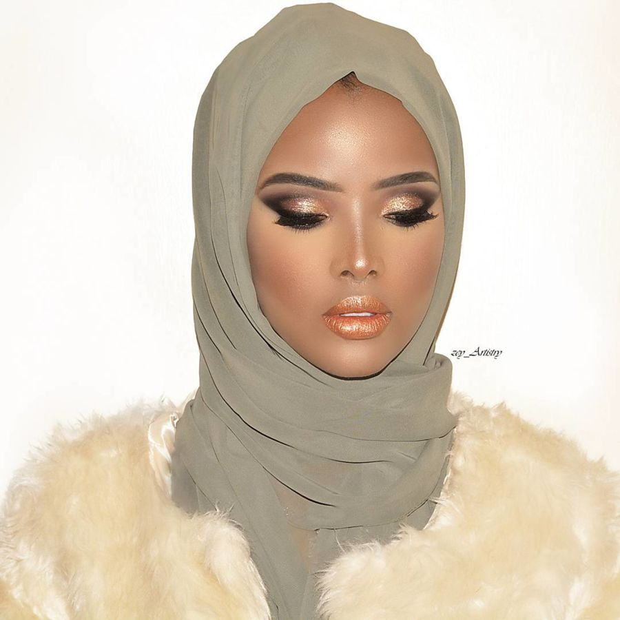 Zeynab Shariff makeup artist. Work by makeup artist Zeynab Shariff demonstrating Beauty Makeup.Beauty Makeup Photo #204131