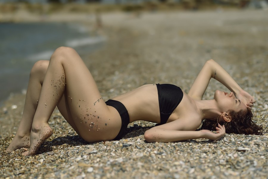 Zina Balati (Ζήνα Μπαλατή) model. Photoshoot of model Zina Balati demonstrating Body Modeling.Body Modeling Photo #223032